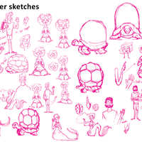 MA project character sketches