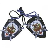 Saint Michael Shield Scapular from the 1800's