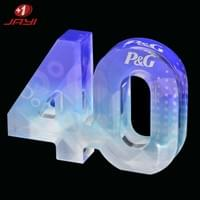 Acrylic commemorative digital block