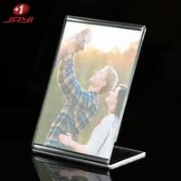 Table top acrylic sign holder