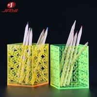 Acrylic colored pen holder