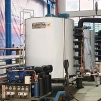 20 ton/day flake ice machine