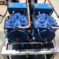 Twin Gea Bock Compressor