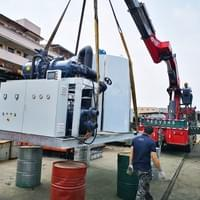 30 ton daily flake ice machine
