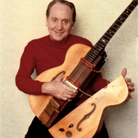 "Les Paul and ""The Log"" (wings added later)"