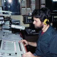 Sam in 1980 at WKYU-FM in Bowling Green, KY.