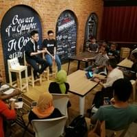 Cafe 2018 #3 - Marcus Teoh (Now or Never author)