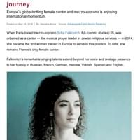 Alumna Sofia Falkovitch's musical journey, Concordia University