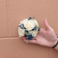 Abby and Mike Wrist Corsage