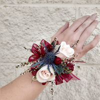 Brooke and Kyle Wrist Corsage