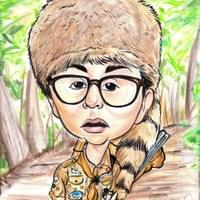 """Sam"" Moonrise Kingdom Caricature"
