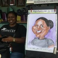 Color Face Caricature
