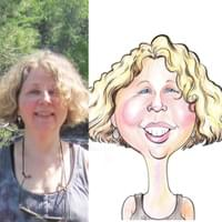 Color Face Caricature From Photo