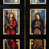 St. John Bosco Church Interior Doors