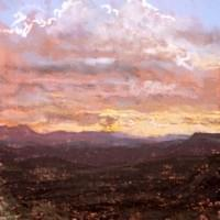 Sunset on the Mogollon Rim