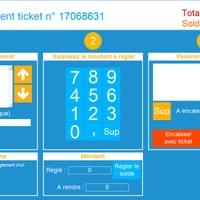 Encaissement du ticket