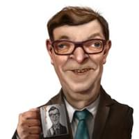 Paavo Väyrynen - illustration for Yle.