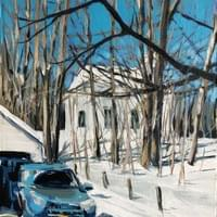 Winter Blues-- On exhibit now at Pittsburgh Watercolor Society's 2020 Aqueous Open