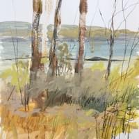 Susquehanna Song (Oct. 2020 - plein air)