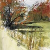 Autumn Calls    Oct. 2020 Plein air