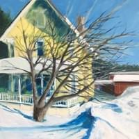 Snow-Bound - Included in Rhode Island Watercolor Society's Home for the Holidays Show 2020