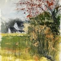 Stoltzfus Farmhouse - October 2020 Plein Air