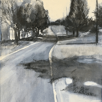 Manheim Road  (July 2020) Now at Lancaster Art Association - HONORABLE MENTION