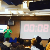 Presented the 'Excuses to Meet' early version for Universities at Google's Campus London
