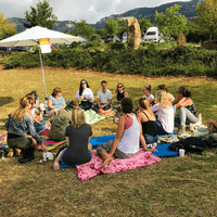 Co-hosting a Coaching Picnic @ Freedom X Festival in Catalunya, Spain