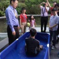 baptism of brother Paul Poon
