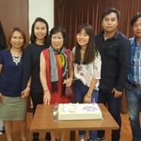 birthday celebration with the Goh family