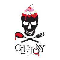 "Gluttony design for a ""Seven Deadly Sins"" costume event"