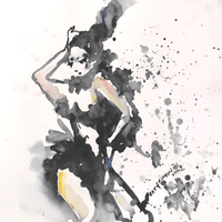 Abstract Expressionism in Watercolour
