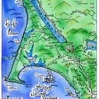 Map of Pt. Reyes by Alden Olmsted ©2018