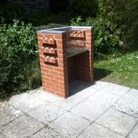 The Elmfield Brick Built Barbecue