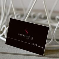 BUSINESS CARD - BROWN SUGAR