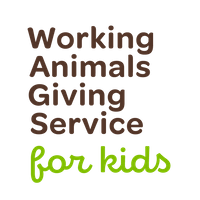 Working Animals Giving Service for Kids