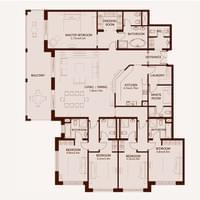 TYPE A - 5 Bedroom