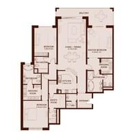 TYPE C - 3 Bedroom