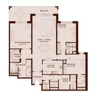 TYPE D1 - 3 Bedroom