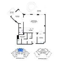 TYPE H - Penthouse 4 Bed - Grd Floor