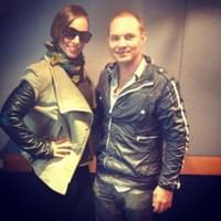 Stuart Grant DJ with Alicia Keys