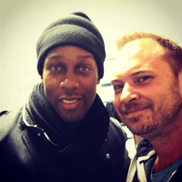 Stuart Grant DJ with Lemar