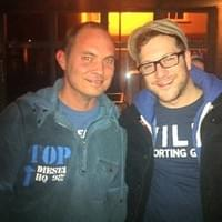 Stuart Grant with Matt Cardle