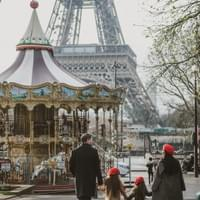 Eiffel Tower / Family photo shoot / 旅拍