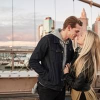 Brooklyn Bridge photo shoot