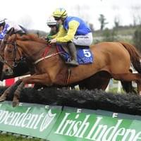 Frere Fontaine on his way to winning at Limerick Racecourse