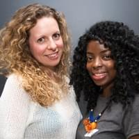 Vanessa and her mentor Louisa Tapper, Managing Partner at Snap London