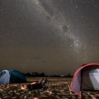 Camping under billion stars - Tsiribihina river cruise