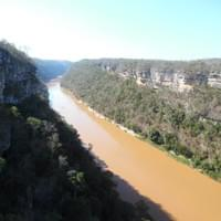 Manambolo gorge view